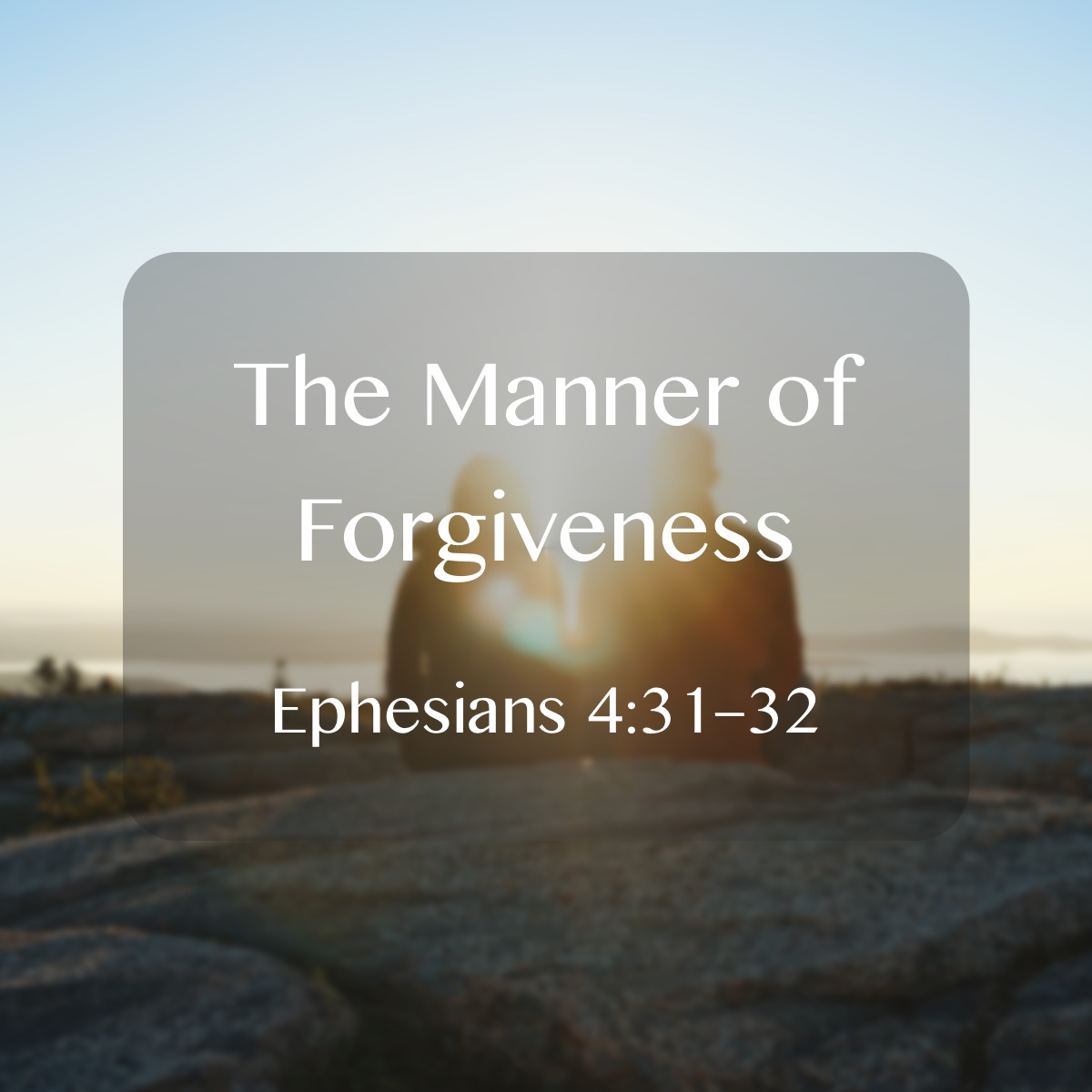 Glencairn Baptist Church – Sermons Tag – forgiveness