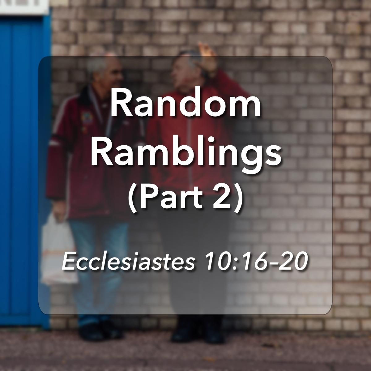 Glencairn Baptist Church – Sermons Categories – Expository